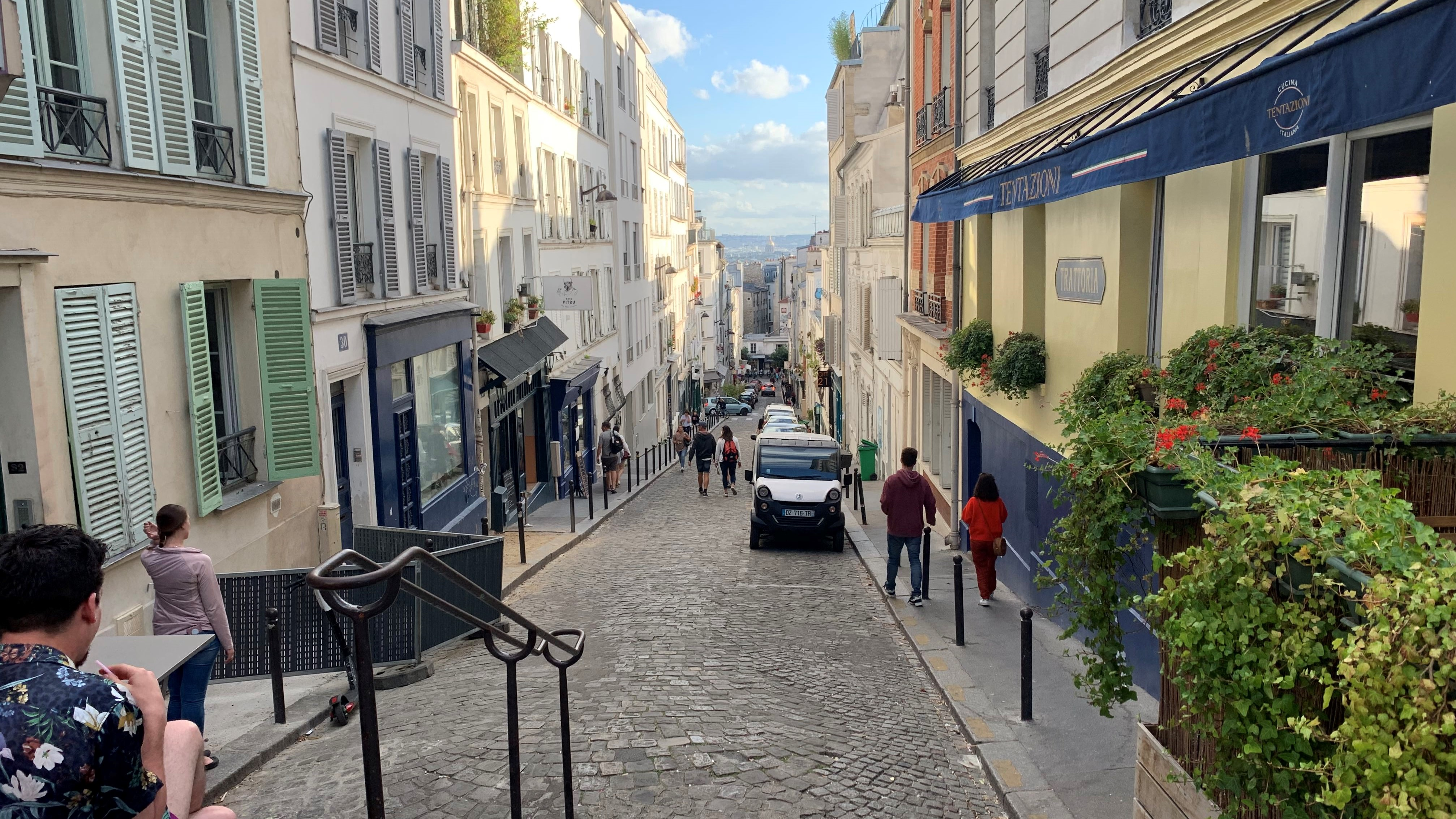 Montmartre, - Senior Trip to Paris