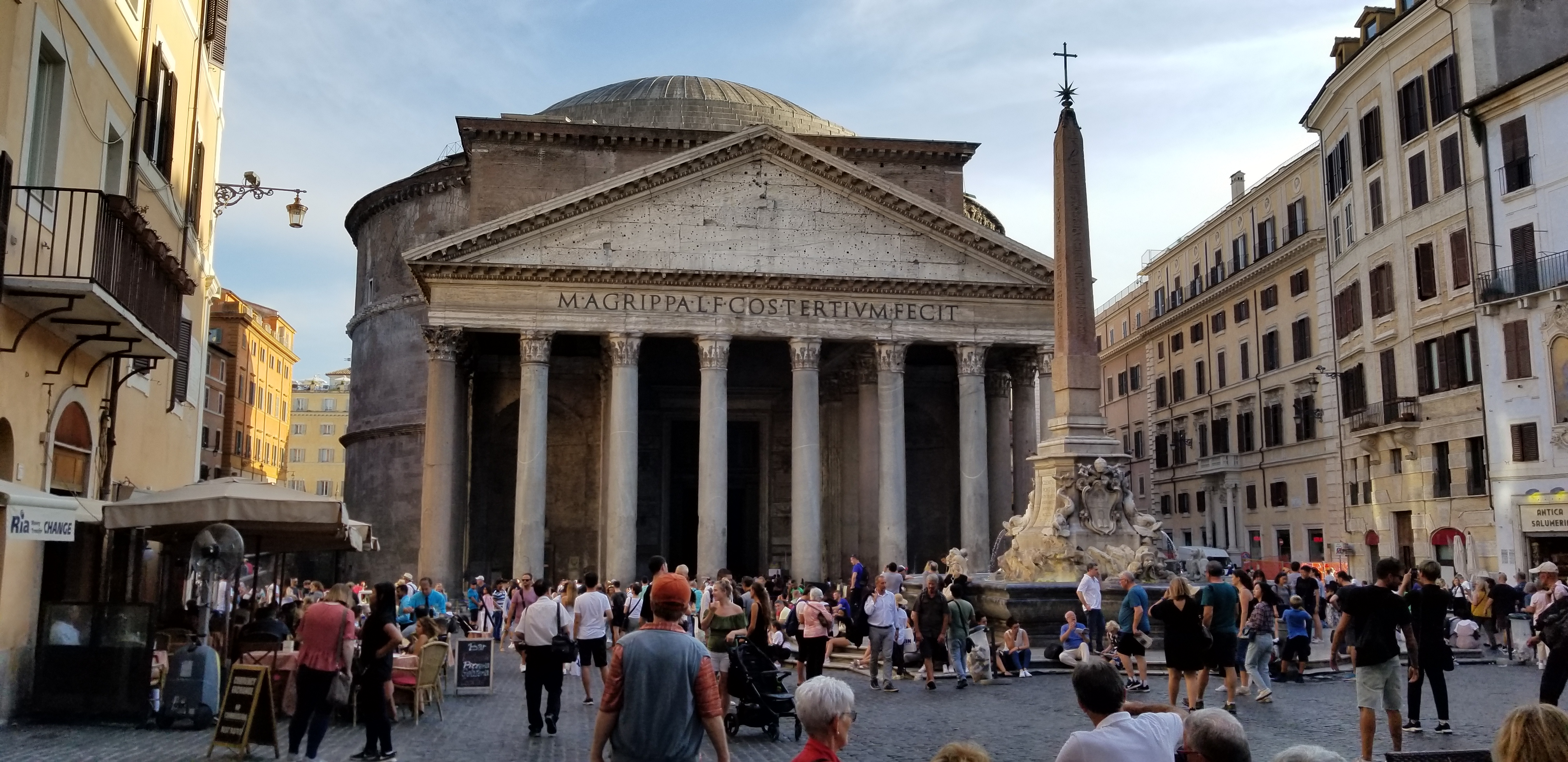 Pantheon, Rome - Senior Trip to Rome