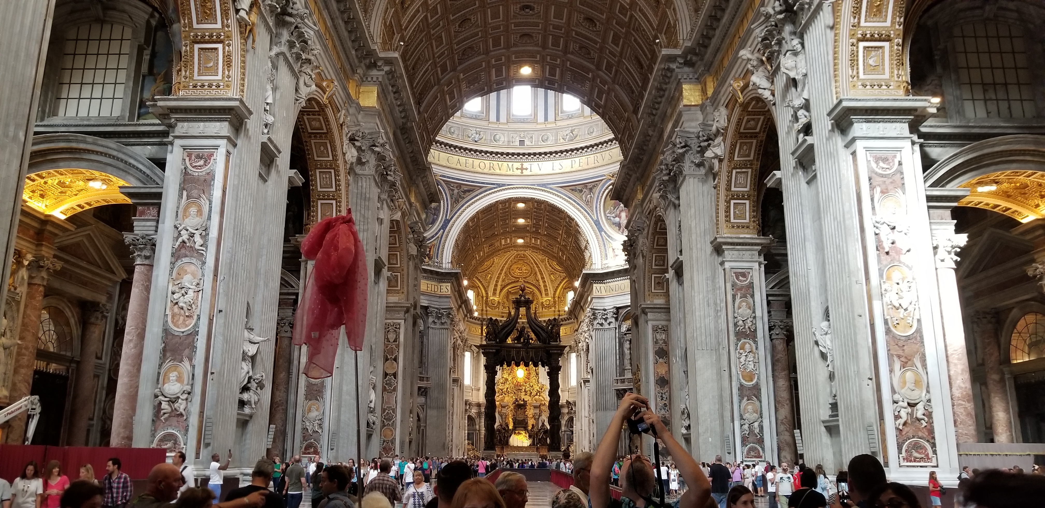 Saint Peters Basilica, Vatican City - Senior Trip to Rome