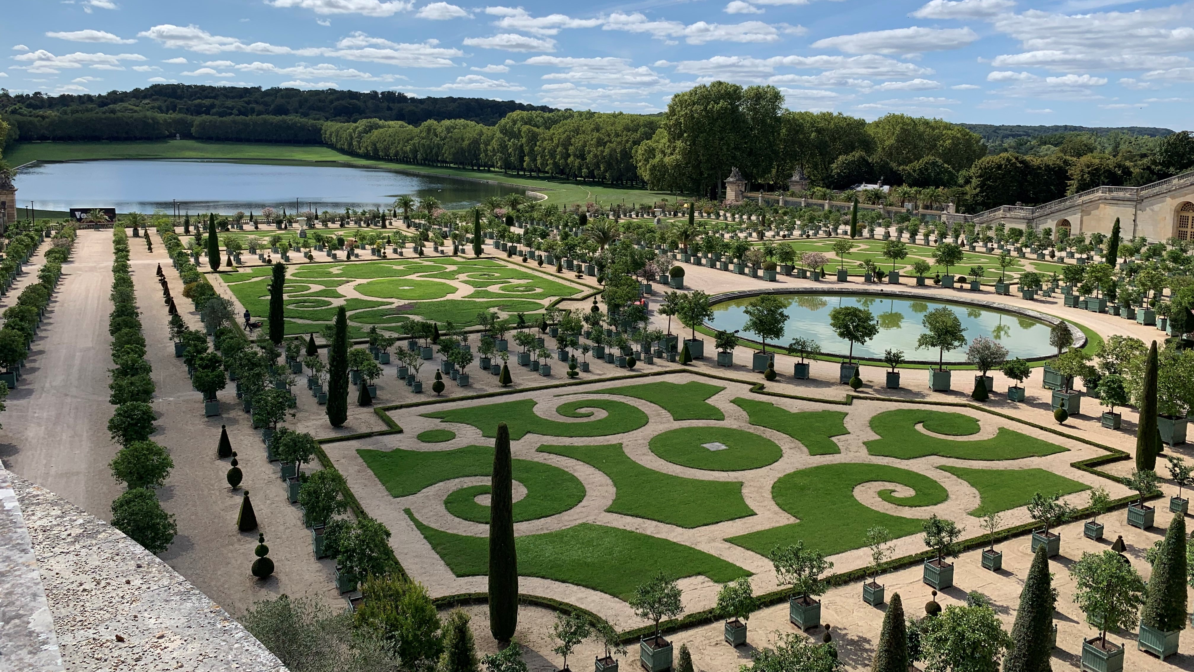 Versailles Garden - Senior Trip to Paris